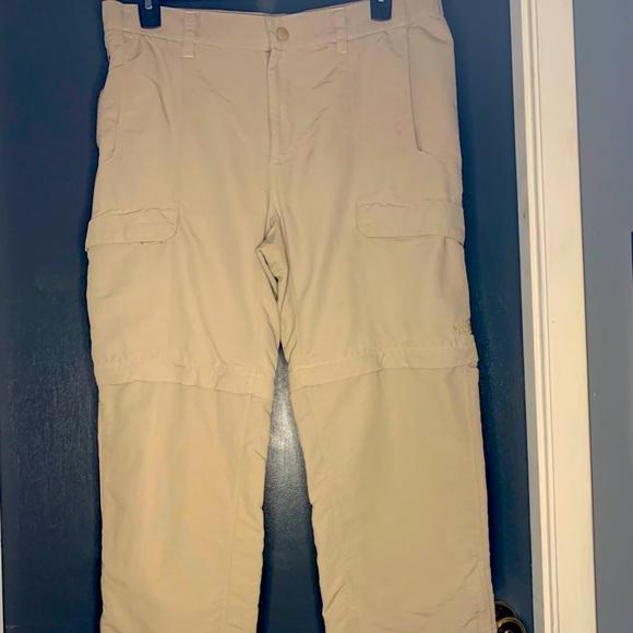 Northface Convertable hiking pants/shorts 38/32